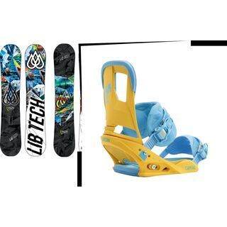 Set: Lib Tech T-Rice C2 BTX 2015 + Burton Cartel (1191263S)