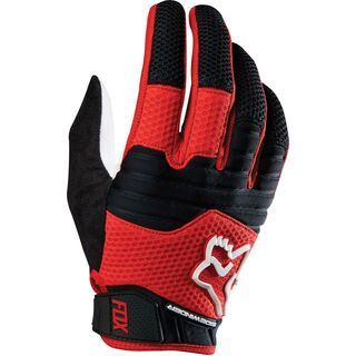 Fox Sidewinder Glove, red white - Fahrradhandschuhe