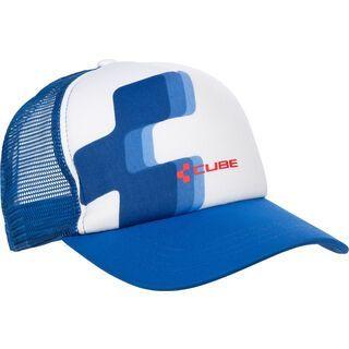 Cube Trucker Cap blue