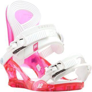 K2 Cassette 2017, pink - Snowboardbindung