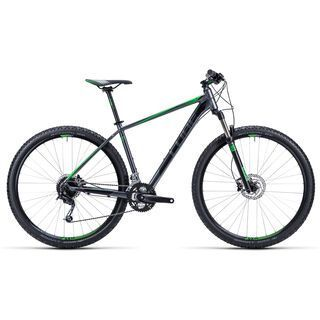 Cube Analog 29 2015, grey/black/green - Mountainbike