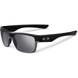 Oakley Two Face, Polished Black/Black Iridium Polarized - Sonnenbrille