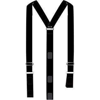 Bergans Holdeskar Suspenders, black - Hosenträger
