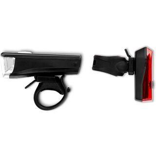 Cube RFR Beleuchtungsset Tour CMPT black