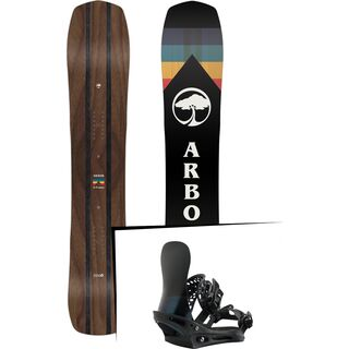 Set: Arbor A-Frame 2019 + Burton X-Base black matte