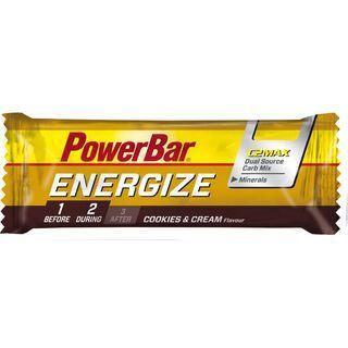 PowerBar Energize - Cookies & Cream - Energieriegel