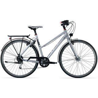 Cannondale Tesoro Mixte 3 2014, silber - Trekkingrad