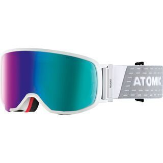 Atomic Revent S FDL HD, white/Lens: green stereo hd - Skibrille