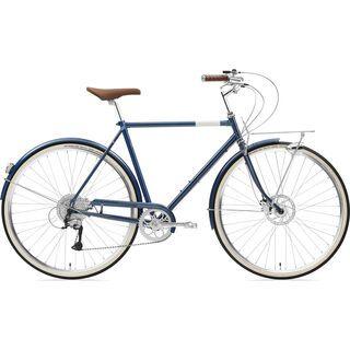 Creme Cycles Caferacer Man Solo Disc 2020, deep blue - Cityrad