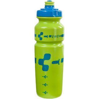 Cube Trinkflasche Logo, blau/lime - Trinkflasche
