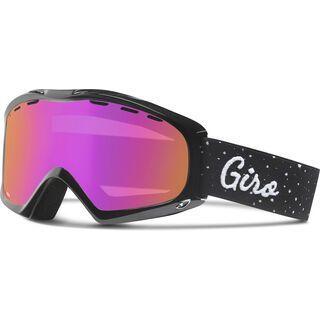 Giro Siren, black hereafter/amber pink - Skibrille