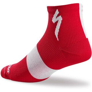 Specialized Women's SL Mid Sock, red - Radsocken