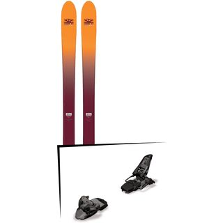 Set: DPS Skis Wailer F99 Foundation 2018 + Marker Squire 11 black anthracite