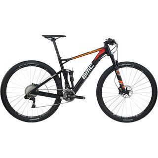BMC Fourstroke 01 XT Di2 2017, black orange - Mountainbike