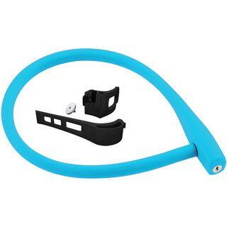 Knog Kabana mit Rahmenhalter, blau - Fahrradschloss