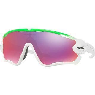 Oakley Jawbreaker - Olympics Collection, green fade/Lens: prizm road - Sportbrille