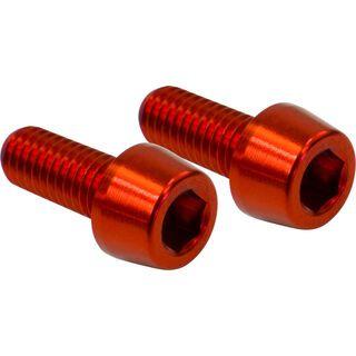 NC-17 Flaschenhalterschraube M5x12 mm, red