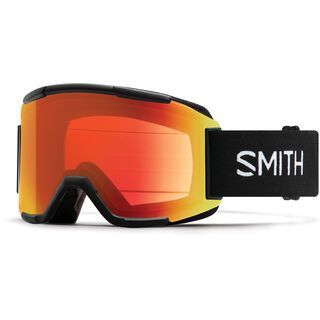 Smith Squad, black/Lens: cp everyday red mir - Skibrille