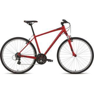 Specialized Crosstrail 2015, Satin Red/Gloss Black/Charcoal - Fitnessbike