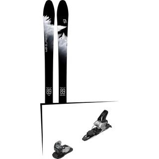 Set: Icelantic Sabre 89 2018 + Salomon Warden MNC 11 silver/black