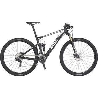 BMC Fourstroke 02 XT 2016, black/white - Mountainbike