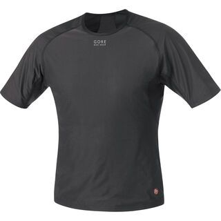 Gore Bike Wear Base Layer Windstopper Shirt, black - Unterhemd