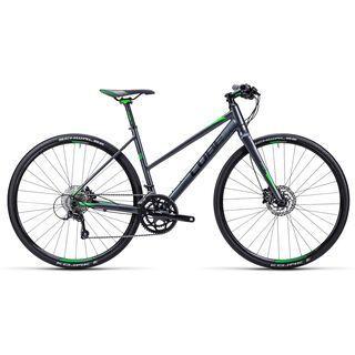 Cube SL Road Pro Trapeze 2015, anthrazit black green - Fitnessbike