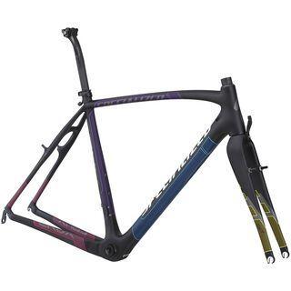 Specialized Crux Pro Carbon Frameset 2014, Carbon/Charcoal/Multi - Fahrradrahmen