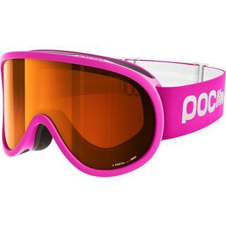 POC POCito Retina, fluorescent pink/Lens: sonar orange - Skibrille