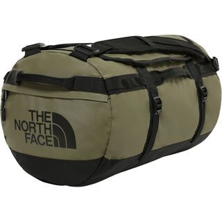 The North Face Base Camp Duffel - Small, burnt olive green/tnf black - Reisetasche