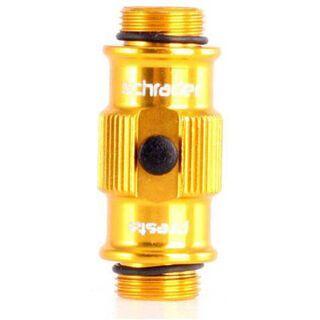 Lezyne ABS Flip Thread Chuck HP, gold - Ersatzteil
