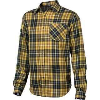 Platzangst Mountain Ridge, yellow - Hemd
