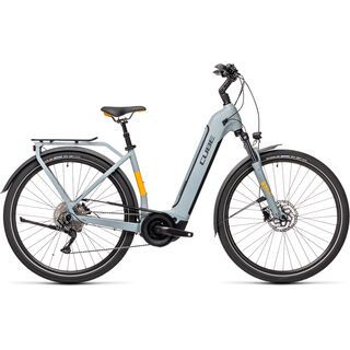 Cube Touring Hybrid Pro 625 Easy Entry grey´n´orange 2021