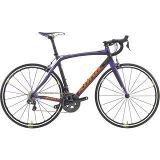 Kona Zing CR 2016, carbon/orange purple - Rennrad