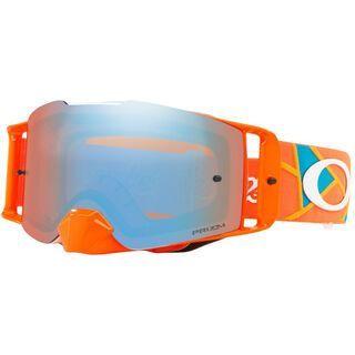 Oakley Front Line MX Troy Lee Designs Series Prizm, Lens: prizm mx sapphire iridium - MX Brille