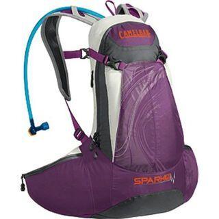 Camelbak Spark 10 LR, imperial purple/graphite - Fahrradrucksack