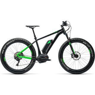 Cube Nutrail Hybrid 500 2016, black´n´green - E-Bike