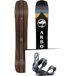 Set: Arbor A-Frame 2019 + Ride Capo grey