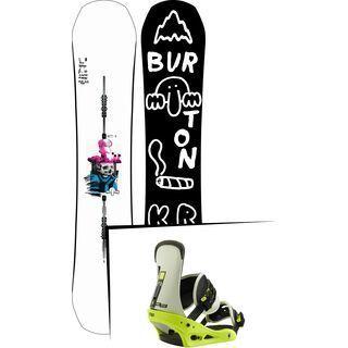 Set: Burton Kilroy Process 2019 + Burton Freestyle mtn dude green