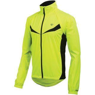 Pearl Izumi Elite Barrier Convertible Jacket, Screaming Yellow/Black - Radjacke