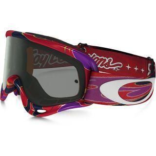 Oakley O-Frame MX XS, reflection orange purple/Lens: dark grey - MX Brille