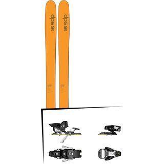 DPS Skis Set: Wailer 99 Hybrid T2 2016 + Salomon STH2 WTR 13