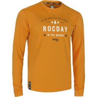 Rocday Patrol Jersey, brown - Radtrikot