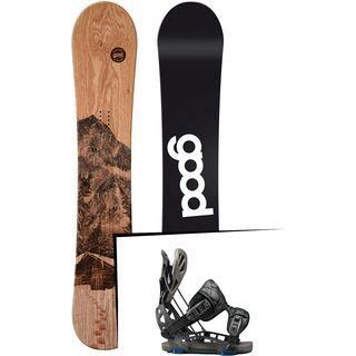 Set: goodboards Wooden 2017 + Flow NX2-GT (1718315S)