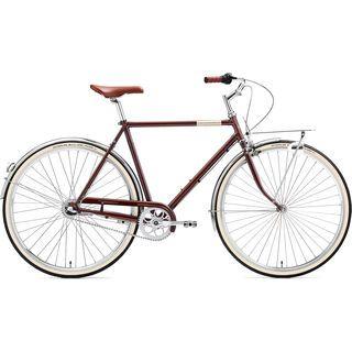 Creme Cycles Caferacer Man Solo 2017, dark brown - Cityrad