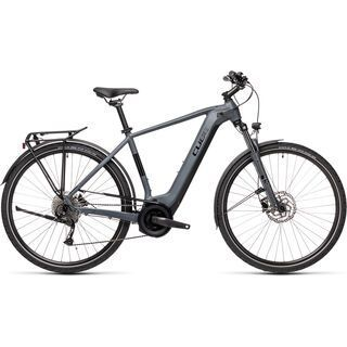 Cube Touring Hybrid ONE 400 2021, grey´n´black - E-Bike
