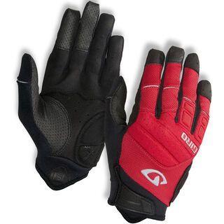 Giro Xen, dark red/black/grey - Fahrradhandschuhe