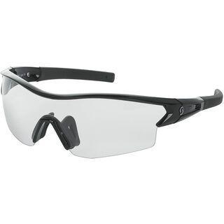 Scott Leap, black glossy clear - Sportbrille