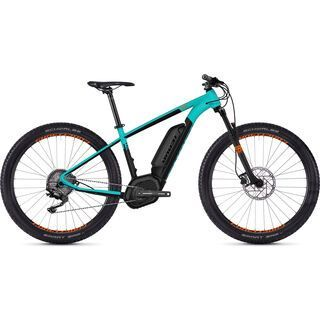 Ghost Hybride Teru B2.7+ W AL 2018, blue/black/neon orange - E-Bike