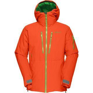 Norrona Lofoten Gore-Tex PrimaLoft Jacket, magma - Skijacke